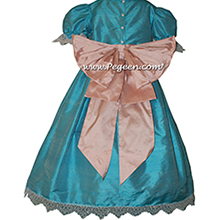 Matisse Blue flower girl dress used for Clara Nutcracker Party Scene