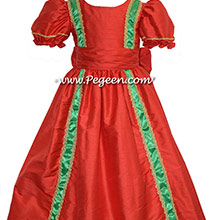 NUTCRACKER PARTY DRESS in Christmas Red