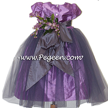 THISTLE AND EUROLILAC flower girl dresses