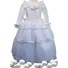 Pearl Silk with Crystals - Our Pearl Fairy Flower Girl Dresses Style 906