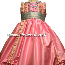 Pink and Blue Nutcracker Dress for Clara or flower girl dress