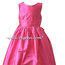 PETAL PINK FLOWER GIRL DRESSES
