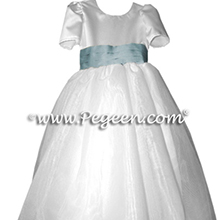 CUSTOM CARRIBEAN TODDLER FLOWER GIRL DRESSES