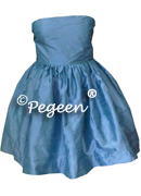 Strapless Junior Bridesmaid Dress 306