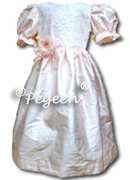 Flower Girl Dress 396 shown in petal pink