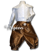 Style 580 Boy's Lord Fontleroy Ring Bearer Suit in Ginger