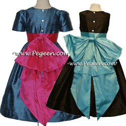 Silk Flower Girl Dresses 345