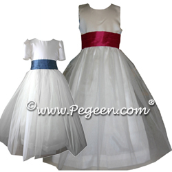 Tulle Flower Girl Dresses 356