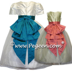 Cinderella Flower Girl Dresses 394