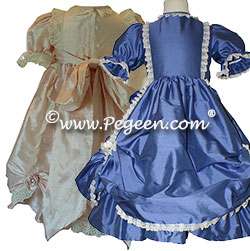 Victorian Style Silk Dress by Pegeen