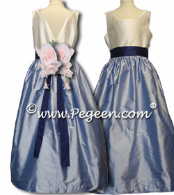 Silk Flower Girl Dresses