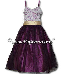 Silk Junior Bridesmaids Dress
