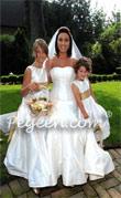 Junior Bridesmaid Dress 320 left and 398 (right)
