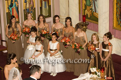 Flower girl dresses for a beautiful greek wedding