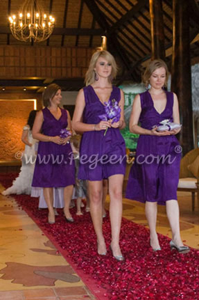 Lilac and Platinum Ring Bearer Suit and flower girl dresses