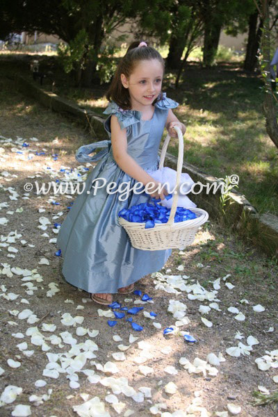 Adriatic flower girl dress