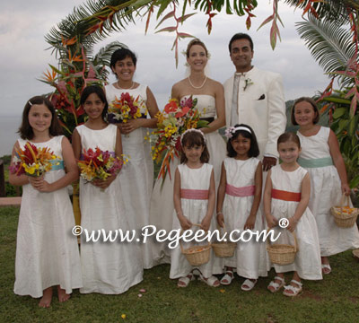 Flower girl dresses by Pegeen
