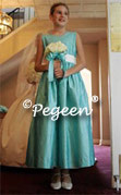 Tiffany Blue Junior Bridesmaid Dress 398
