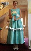 Tiffany Blue Junior Bridesmaid Dress 398