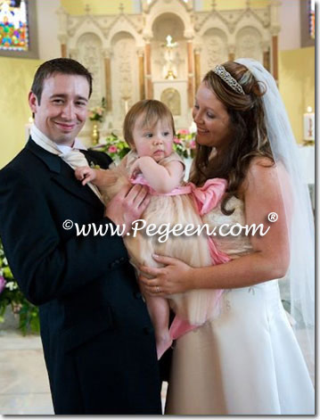 Infant flower girl dress in Ireland
