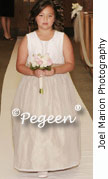 Creme Ivory Junior Bridesmaid Dress 307