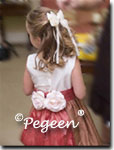 Flower Girl Dresses of the Month in Spice and Ginger in Style 383