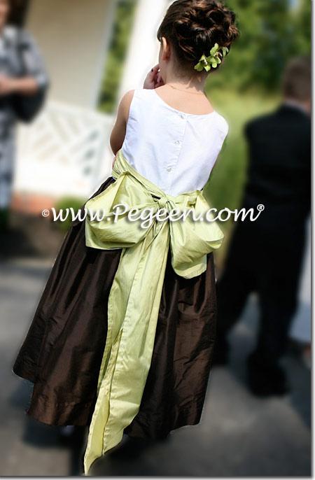 Citrus and Semi-Sweet Jr Bridesmaids Dress Style 388