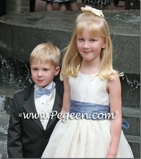 Euro peri flower girl dresses