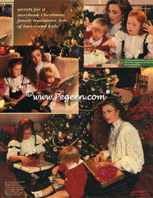 Jane Seymor's Christmas Layout in People Magazine