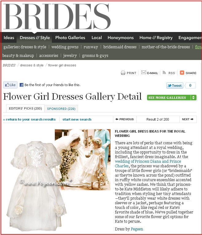 Pageant Dress 329 (the Regis Dress) in Brides.com