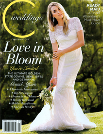 Pegeen featured in C Magazine Weddings