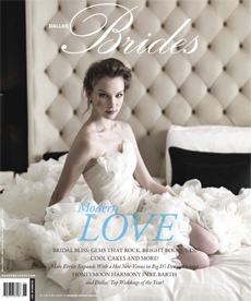 Pegeen featured in Dallas Brides Spring 2012