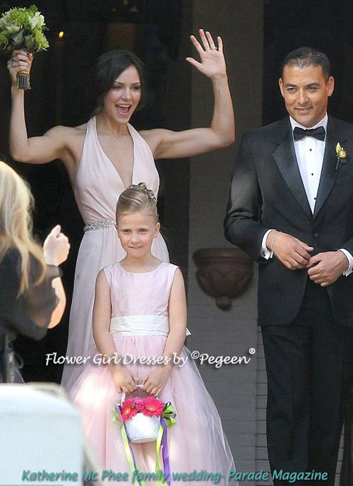 Katherine McPhee - Family Wedding in