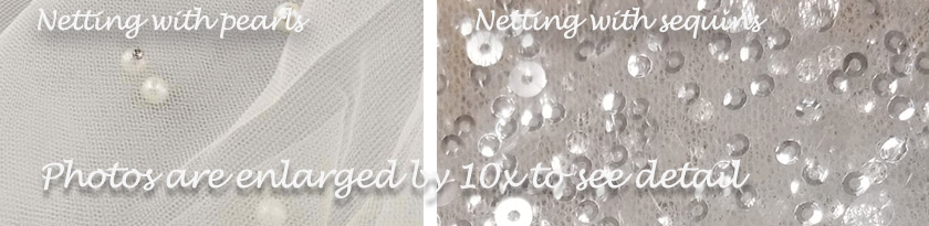 Pearl or sequin netting flower girl dress colors