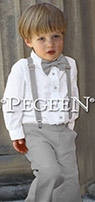 Ring Bearer Suit 299 Suspender and Pants