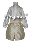 Ring Bearer with Silk Pleated Shirt 510