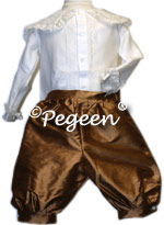 Fontleroy Ring Bearer with Silk Lace Shirt 580
