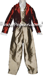 James - a Pageboy outfit with coat Part of the Regal Collection by Pegeen Style 591