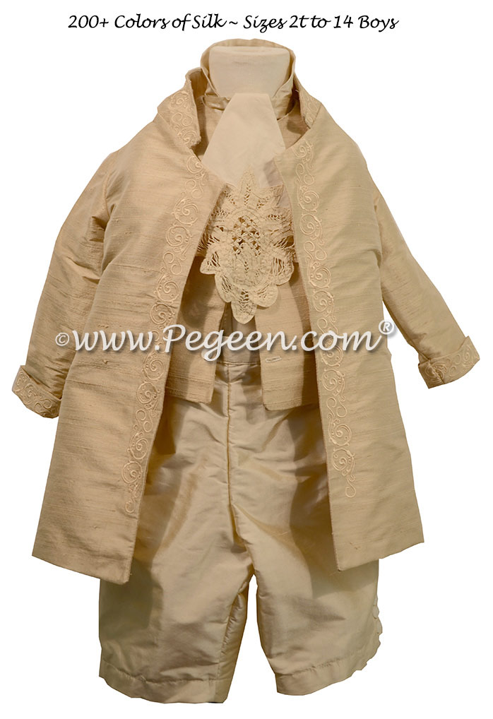 Couture Boys Pirate Silk Shirt Pageboy suit style 595