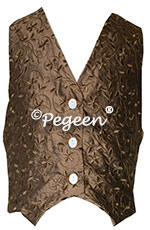 Boy's embroidered vest