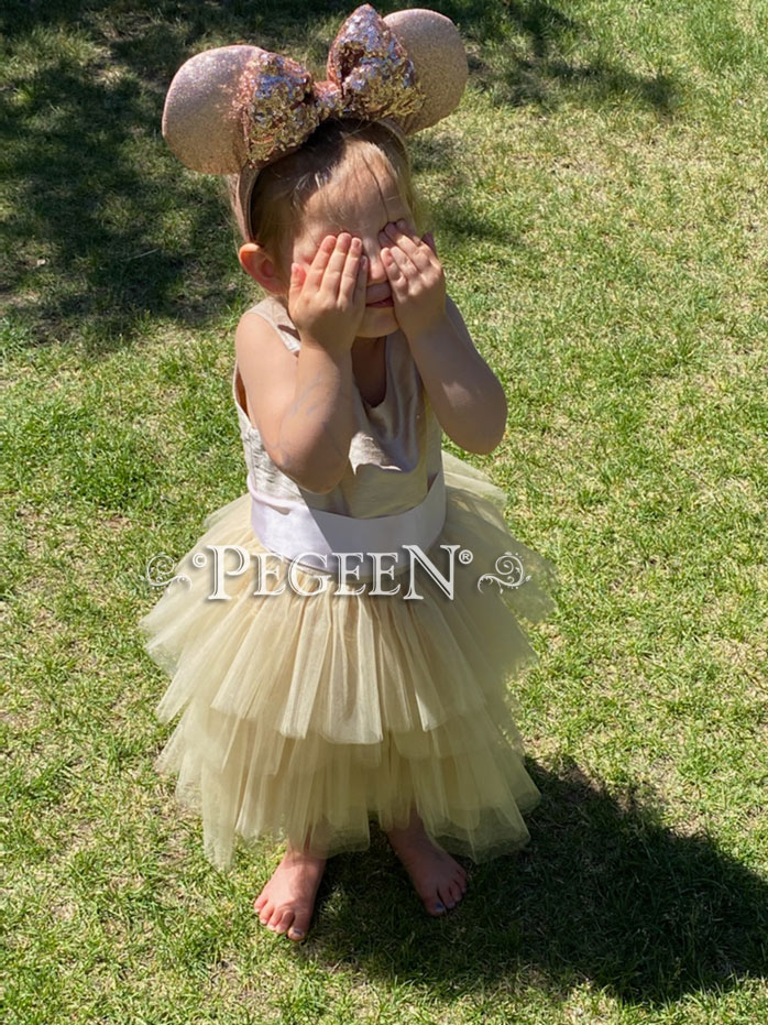 This Flower Girl Dress is part of our classic collection starting at $99