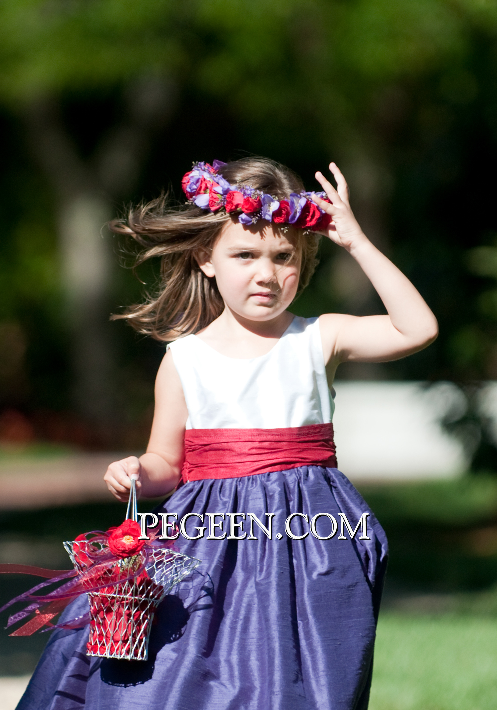 Flower Girl Dress 388