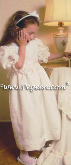 Flower girl dresses by Pegeen.com