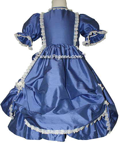 Victorian Style Custom Flower Girl Dress for Infants and Older Children