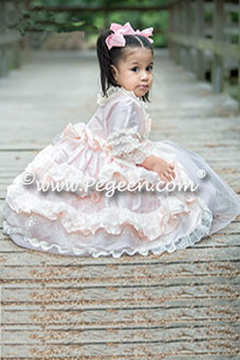 Pegeen Couture Flower Girl Dress Style 405