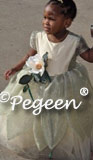 Princess and the Frog Flower Girl Dress Style 421