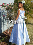 Junior Bridesmaid or Cotillion Dresses with Spagetti Straps Style 423