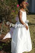 Junior Cotillion Bridesmaids Dresses with spagetti Straps