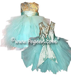 Tulle and Sequined Flower Girl Dress