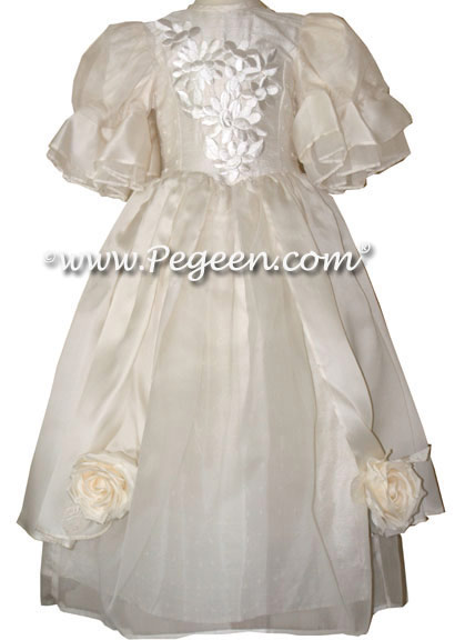 Custom silk Flower Girl Dresses from the Regal Dress Collection Style 609